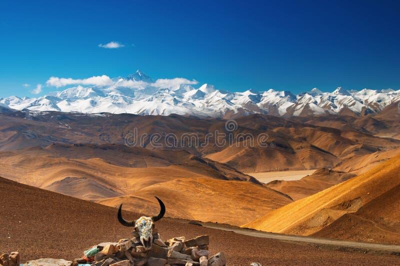 Supporto Everest fotografie stock