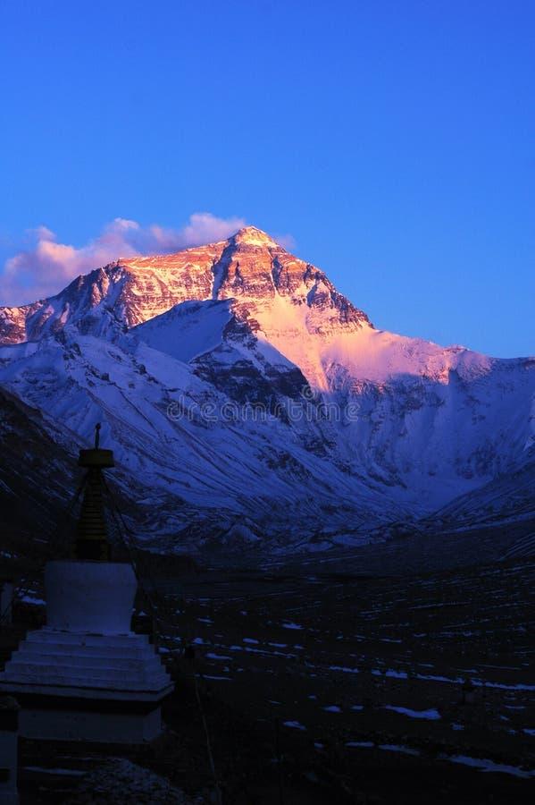 Supporto Everest immagine stock
