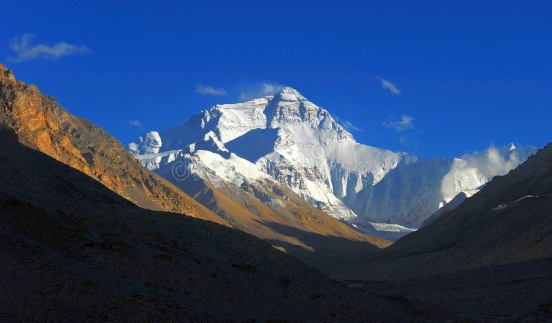 Supporto Everest, picco immagini stock libere da diritti