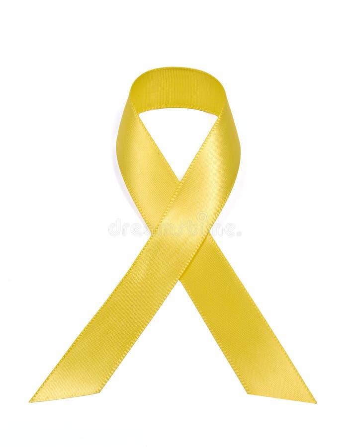 Supporto giallo il nostro nastro delle truppe immagini stock