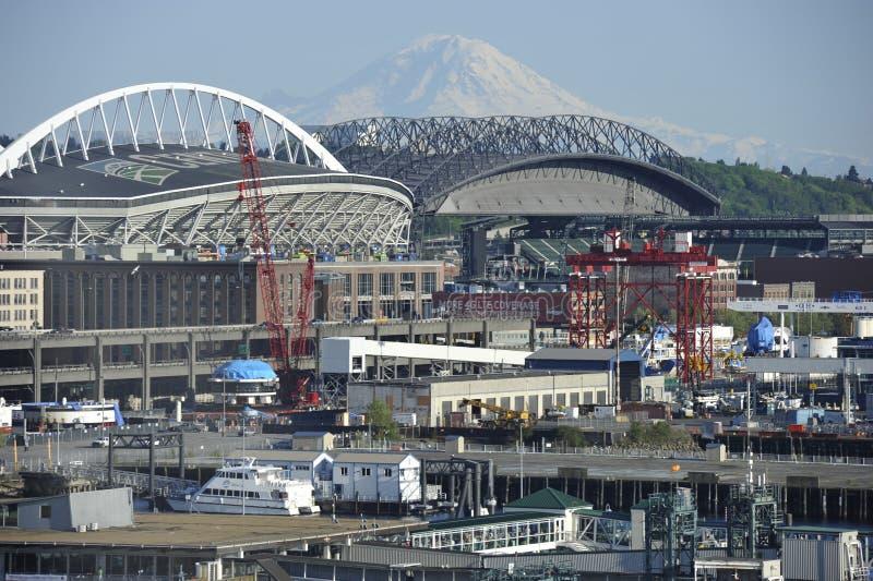 Download Supporto Rainer Ed Il Porto Di Seattle Immagine Editoriale - Immagine di america, trasporto: 30831710
