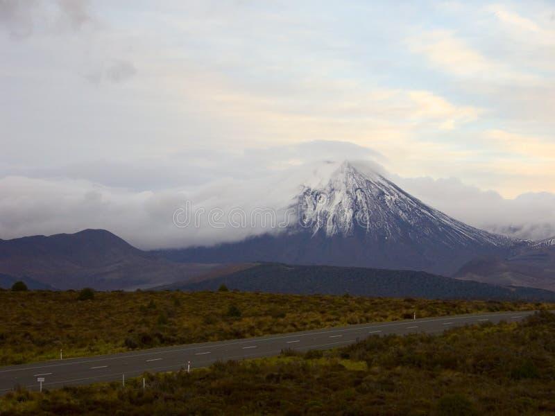 Supporto Ruapehu immagini stock libere da diritti