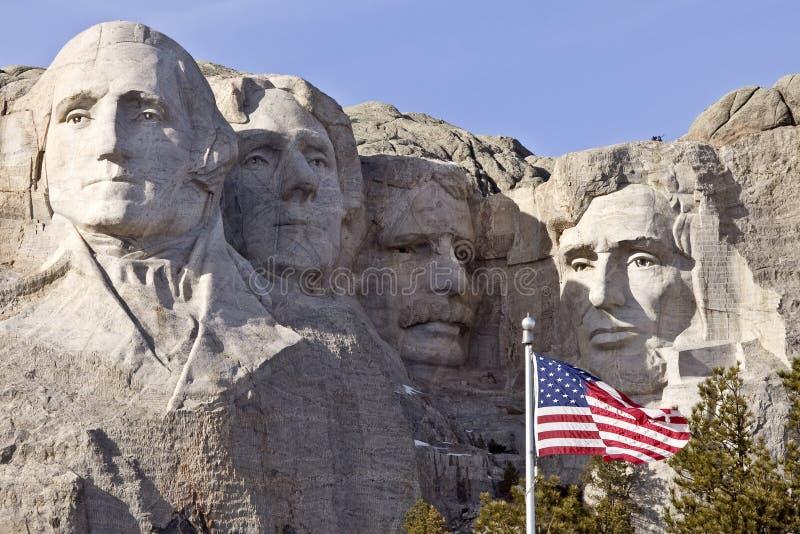 Supporto Rushmore il Dakota del Sud fotografie stock