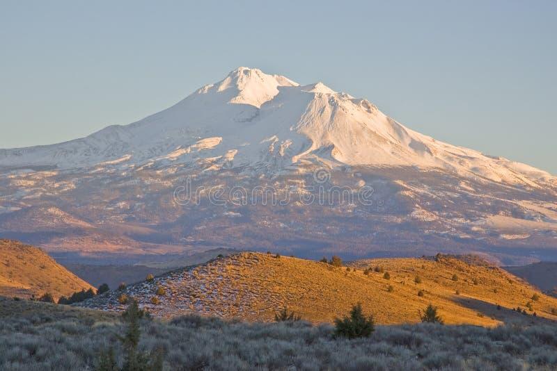 Supporto Shasta California fotografie stock libere da diritti