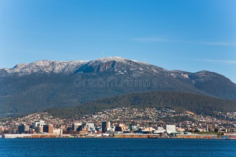 Supporto Wellington in Tasmania fotografia stock libera da diritti