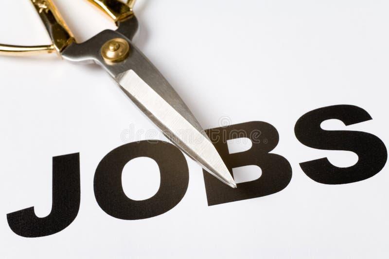 Suppression d'emplois photo libre de droits