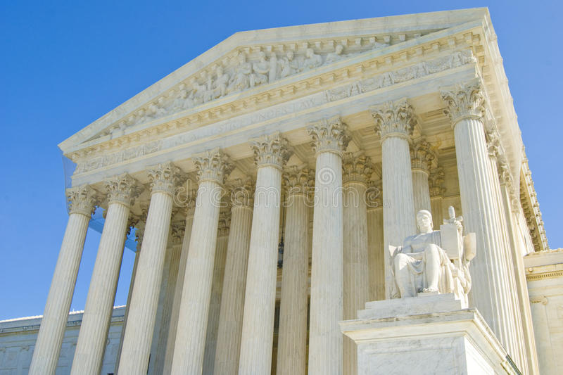 The Supreme Court royalty free stock photography
