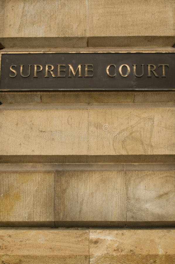 Supreme Court Stock Image