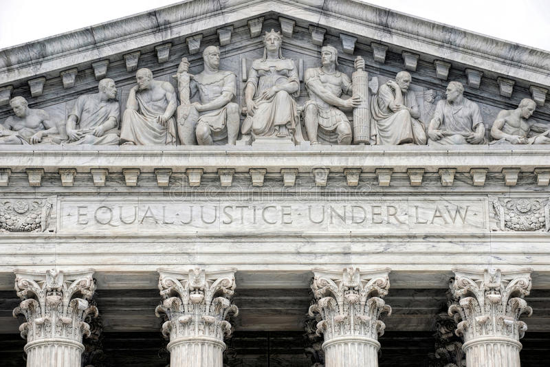 Supreme Court Building. stock image
