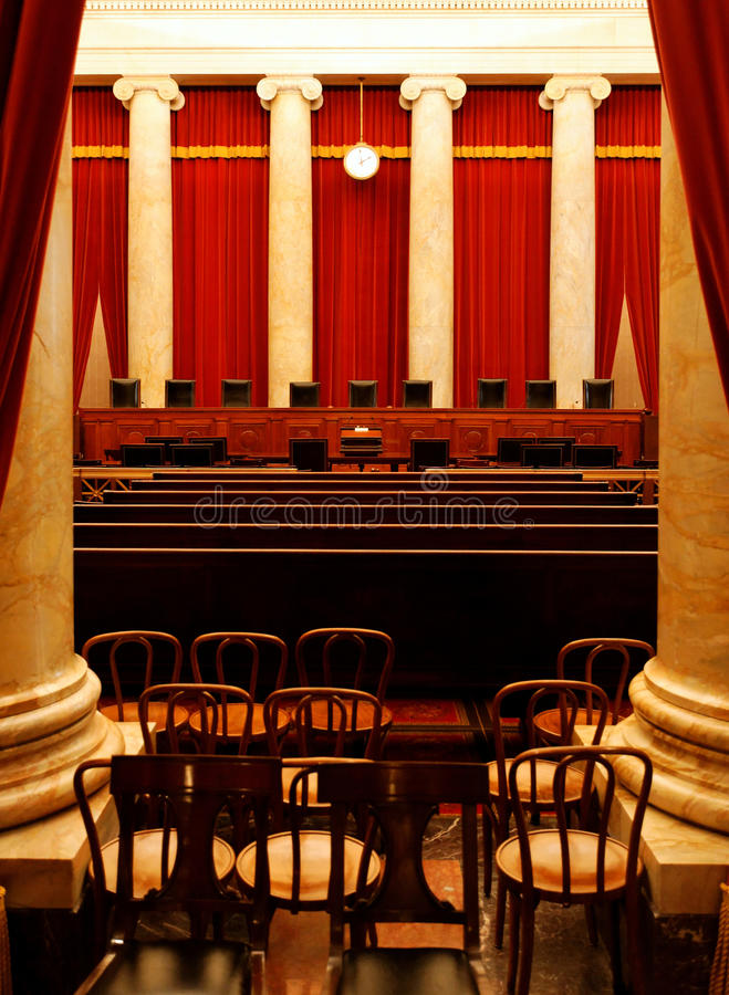 The Supreme Court royalty free stock images