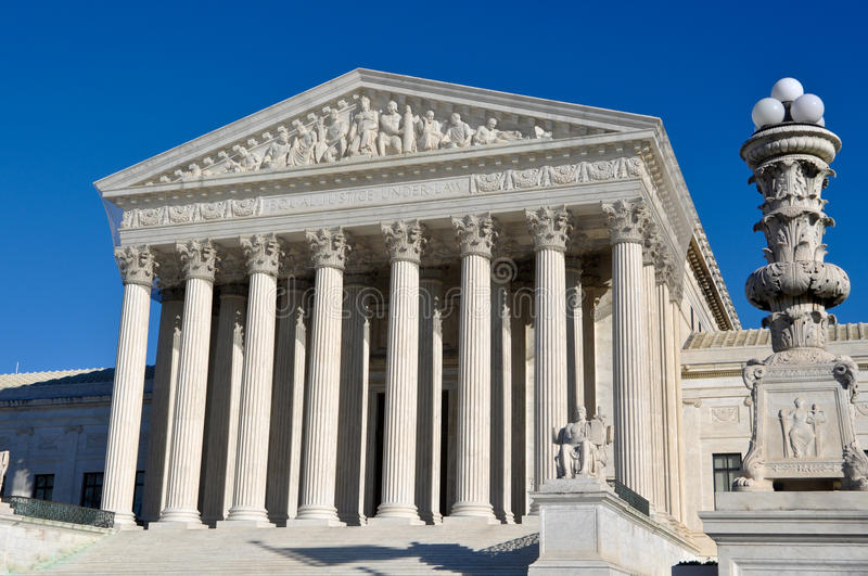 Supreme Court Of United States Royalty Free Stock Image