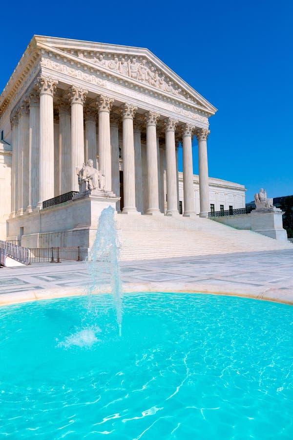 Supreme Court United states in Washington royalty free stock image