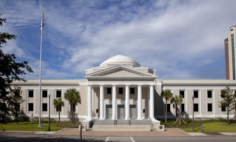 Supreme Courthouse in Florida royalty free stock photo
