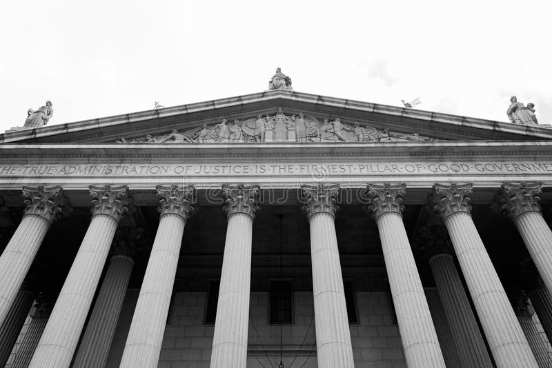 Supreme Courthouse, New York royalty free stock photos