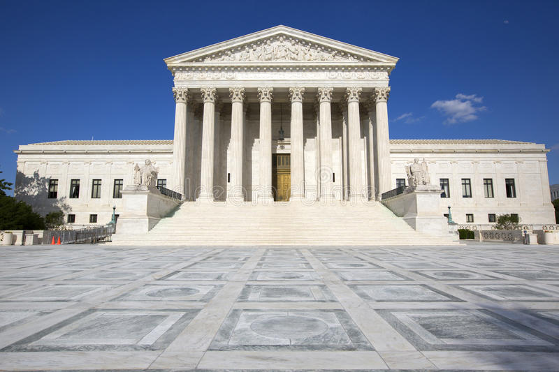 The Supreme courthouse. stock photo