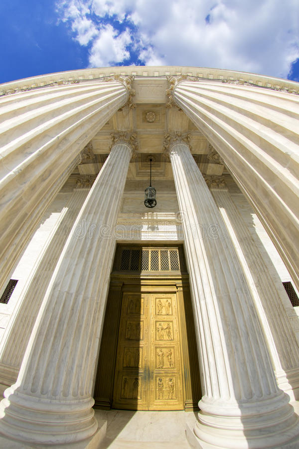 The Supreme courthouse. royalty free stock images