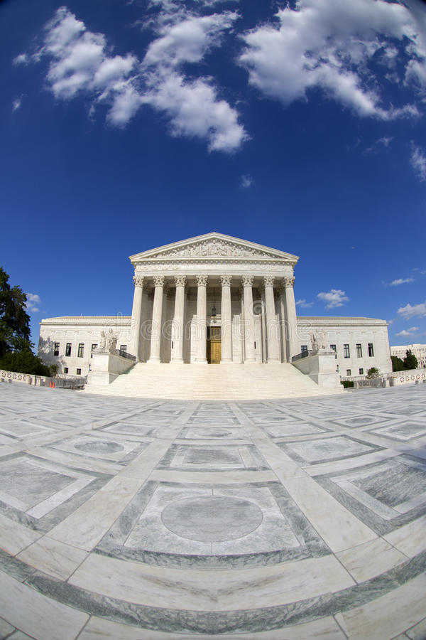 The Supreme courthouse. royalty free stock photo