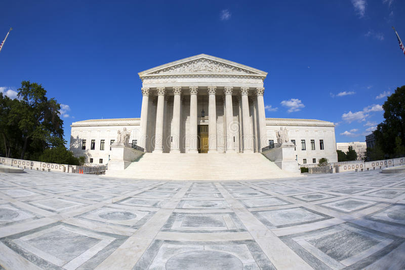 The Supreme courthouse. stock photography