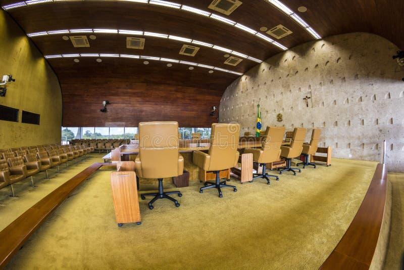 Supremo法庭联邦-巴西利亚- DF -巴西 免版税库存图片