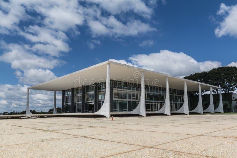 Supremorechtbank Federale - Brasília - DF - Brazilië stock afbeelding
