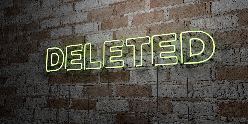 SUPRIMIDO - Sinal de néon de incandescência na parede da alvenaria - 3D rendeu a ilustração conservada em estoque livre dos direi ilustração do vetor