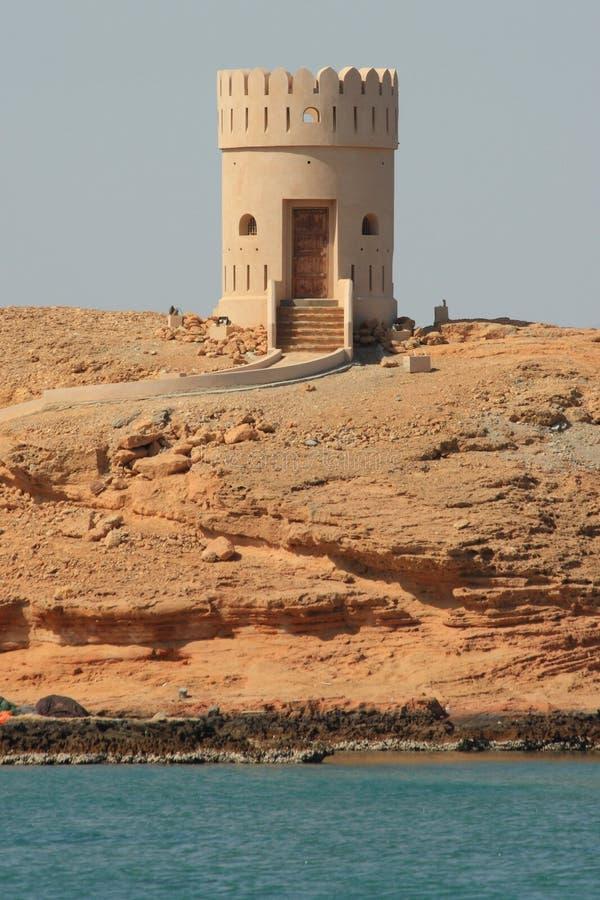 sur Омана маяка стоковые изображения