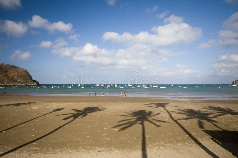 sur de beach del juan Nicaragua san image stock