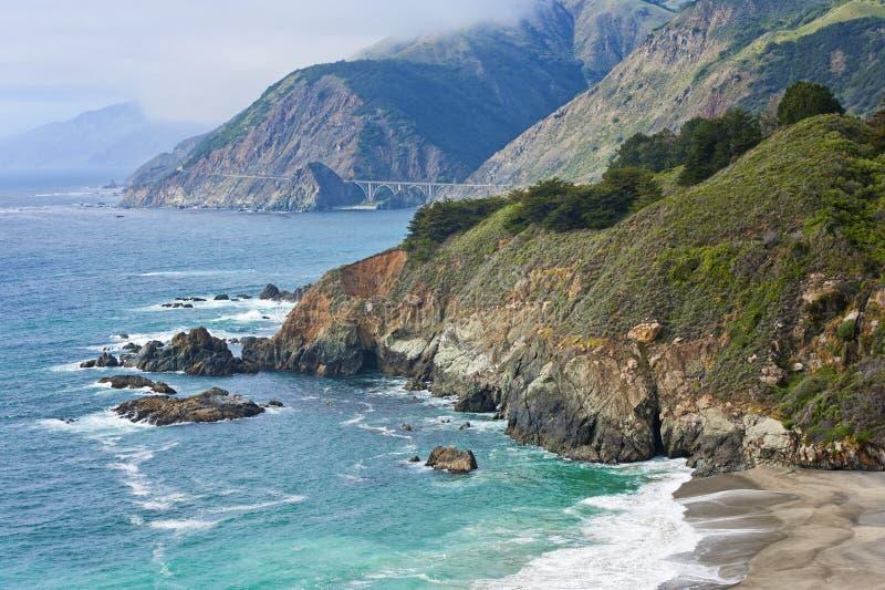 Sur grande California imagenes de archivo