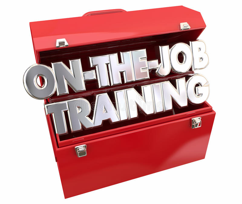 Sur Job Training Tools Toolbox illustration stock