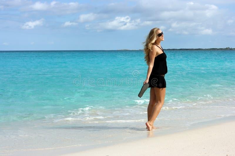Sur l'île des Bahamas photos stock
