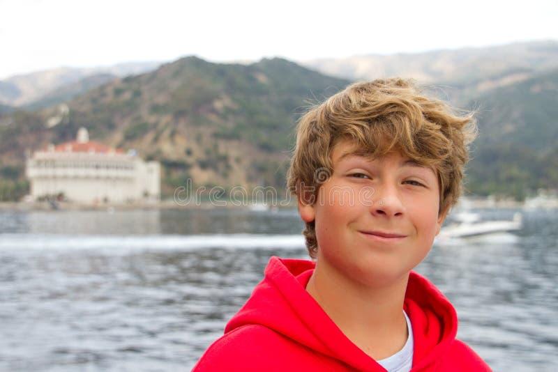 Sur l'eau Catalina photographie stock libre de droits