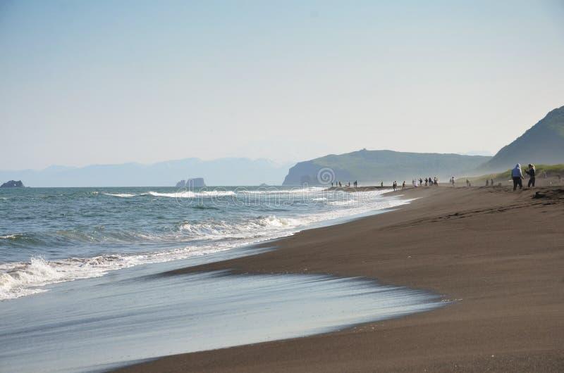 Sur l'océan pacifique photos stock