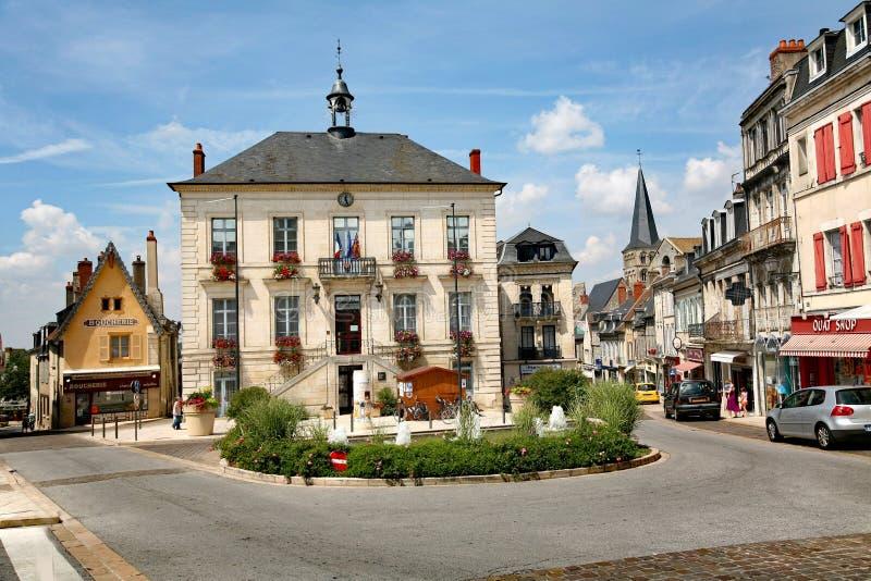 Sur la Loire, Frances de Charite, images stock