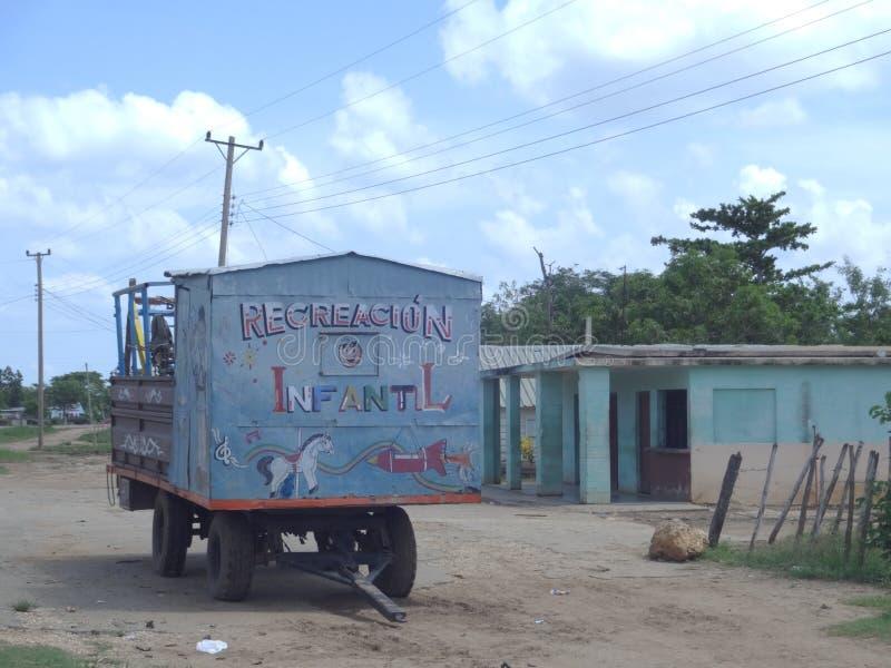 Sur la route, le Cuba 2017 photo stock