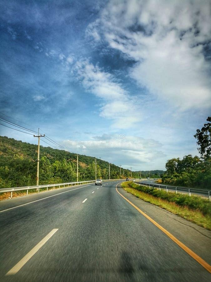 Sur le chemin… image libre de droits