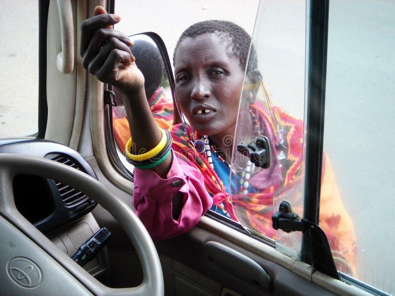 Sur le chemin à Kilimanjaro photos libres de droits