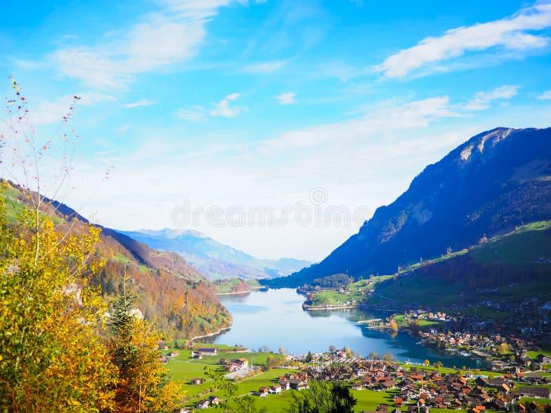 Sur le chemin vers Lucerne images libres de droits