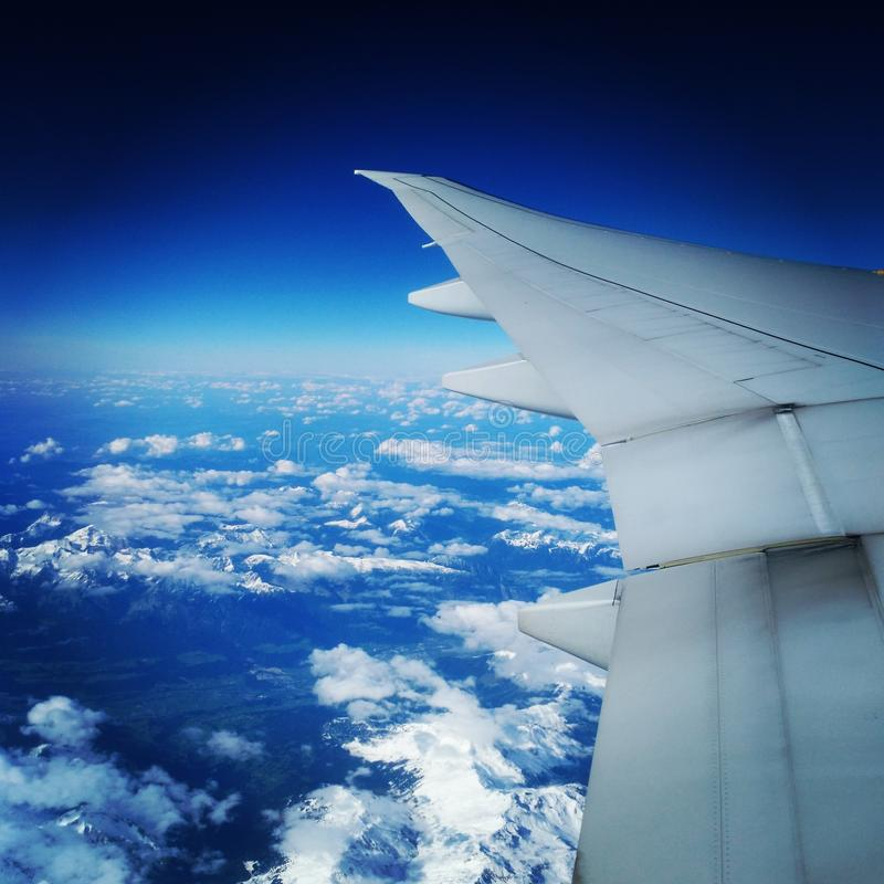 Sur le ciel images libres de droits
