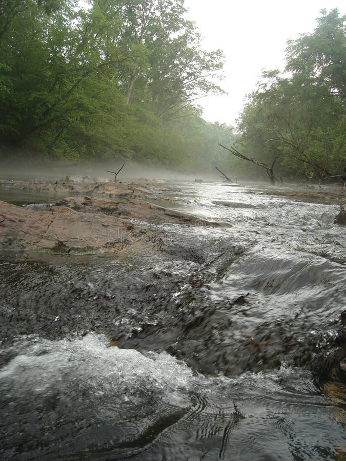 Sur le fleuve photos stock