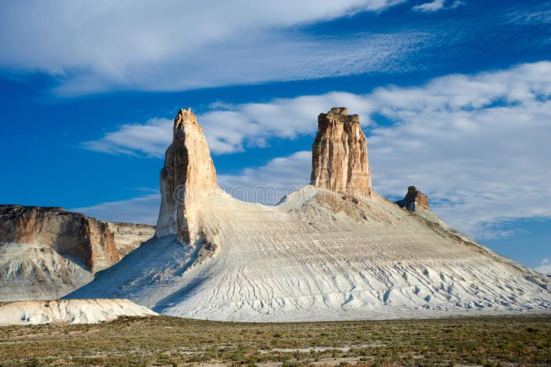 Sur le plateau d'Oust-Ourt photo libre de droits