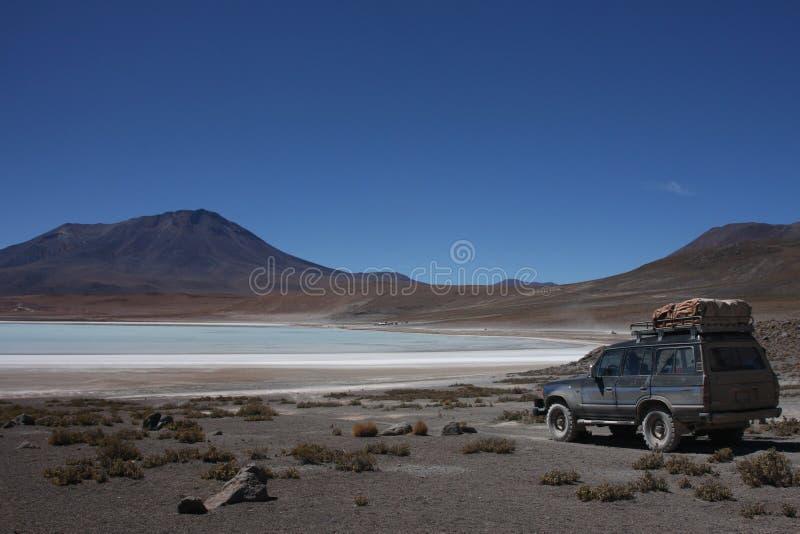 Sur le rivage de Laguna Hedionda photographie stock libre de droits
