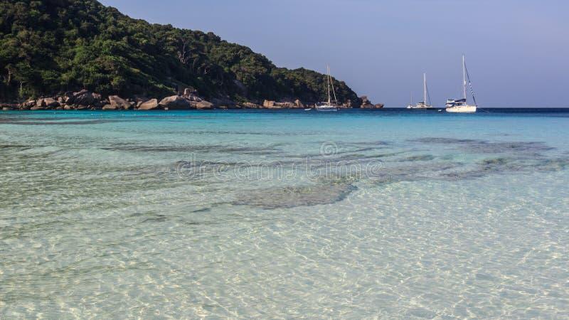 Sur les îles photos stock