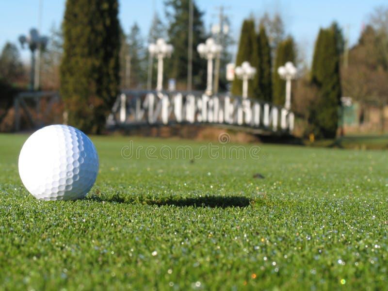 Download Sur les 3 verts image stock. Image du golfeur, aigle, parité - 4350429