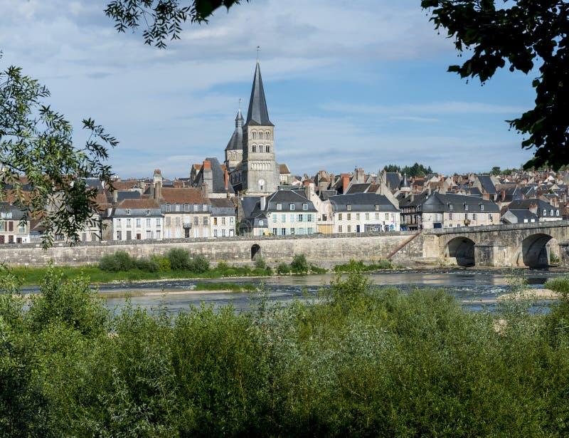 Sur Loire de charite de La images stock