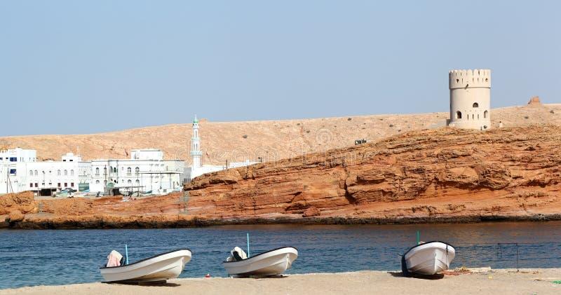 Sur Oman arkivbilder