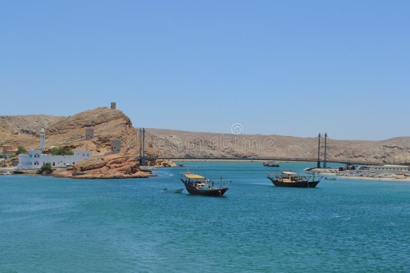 Sur Oman royaltyfri bild