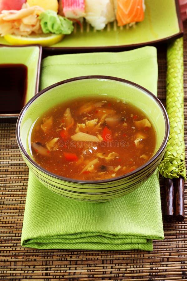 sur sötsak för japansk soup fotografering för bildbyråer