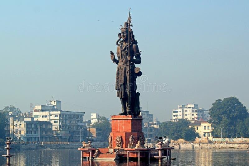 Sur Sagar Lake, Vadodara, Gujarat stock afbeeldingen