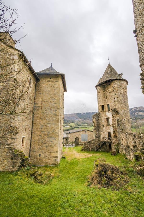 Sur Tartaronne de Saint Saturnin, França foto de stock