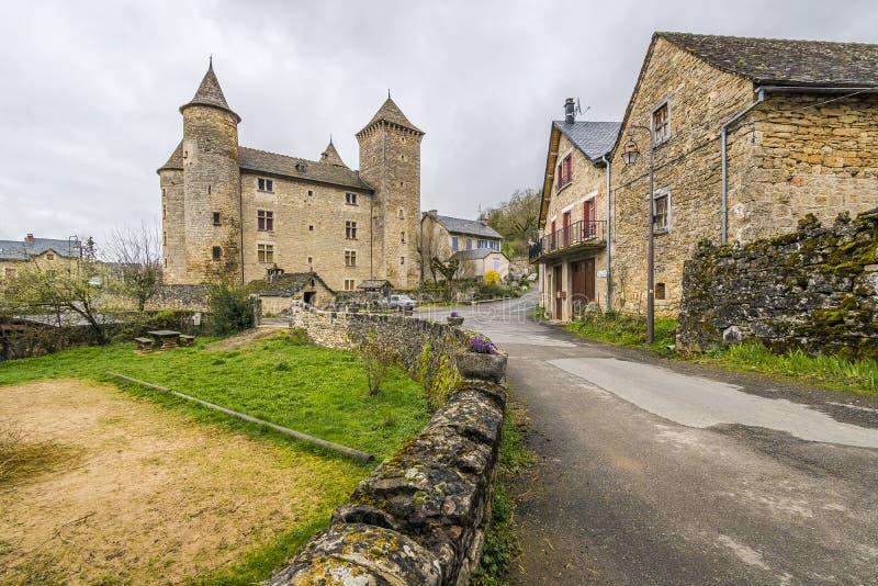 Sur Tartaronne de Saint Saturnin, França fotografia de stock royalty free